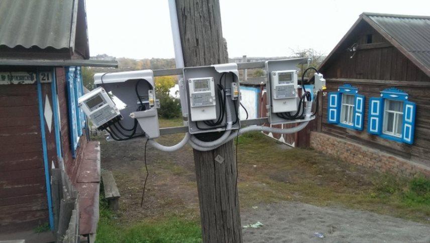 Электросчетчик частного дома