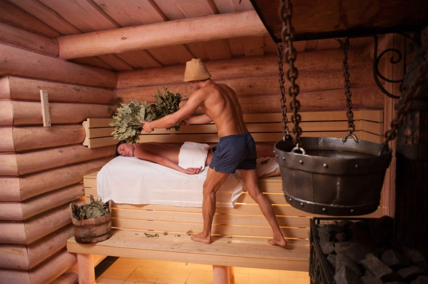 Парная в русской бане