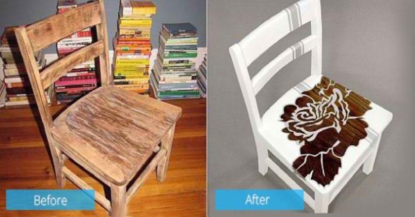 Старые стулья по-новому