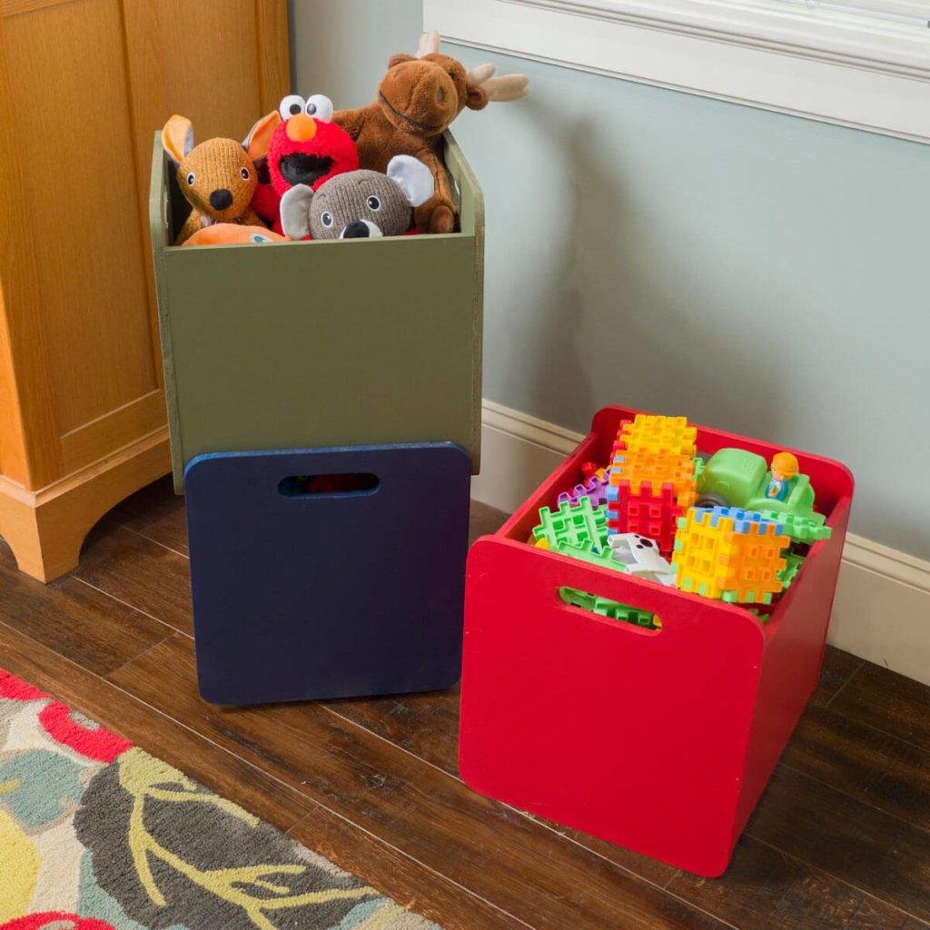 Ящики для хранения с помощью лобзика