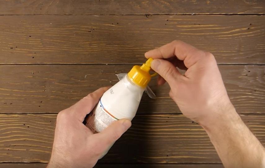 Полезные хитрости о бутылочке с клеем