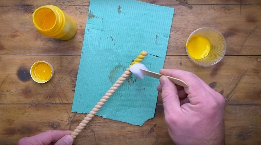 Полезный совет: Покраска импровизированной кисточкой