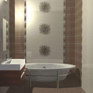 Выбор плитки для небольшой ванной