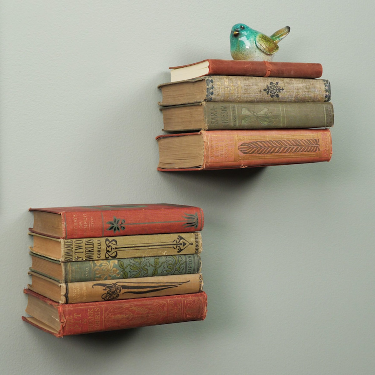 невидимые книжные полки