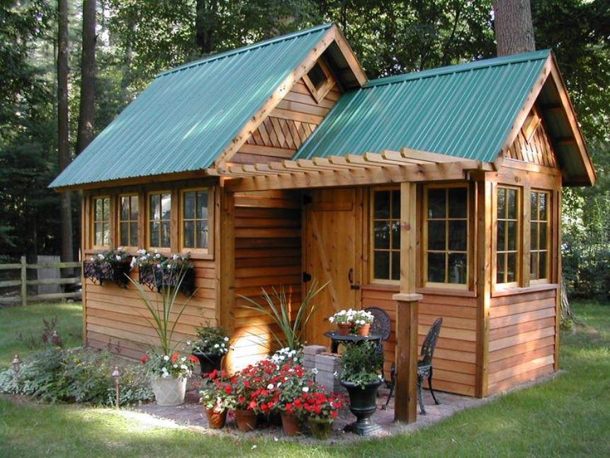У вас имеется садовый домик? Отныне у вас будет налоговая льгота!