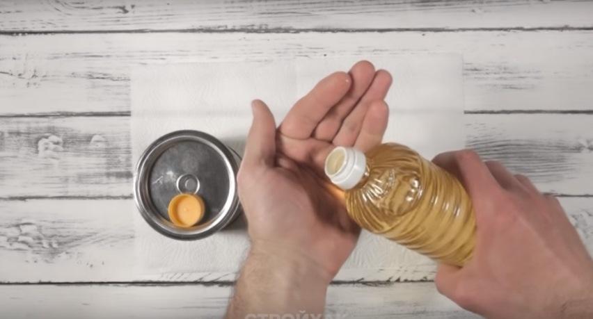 Полезный совет - Масло на руки перед покраской