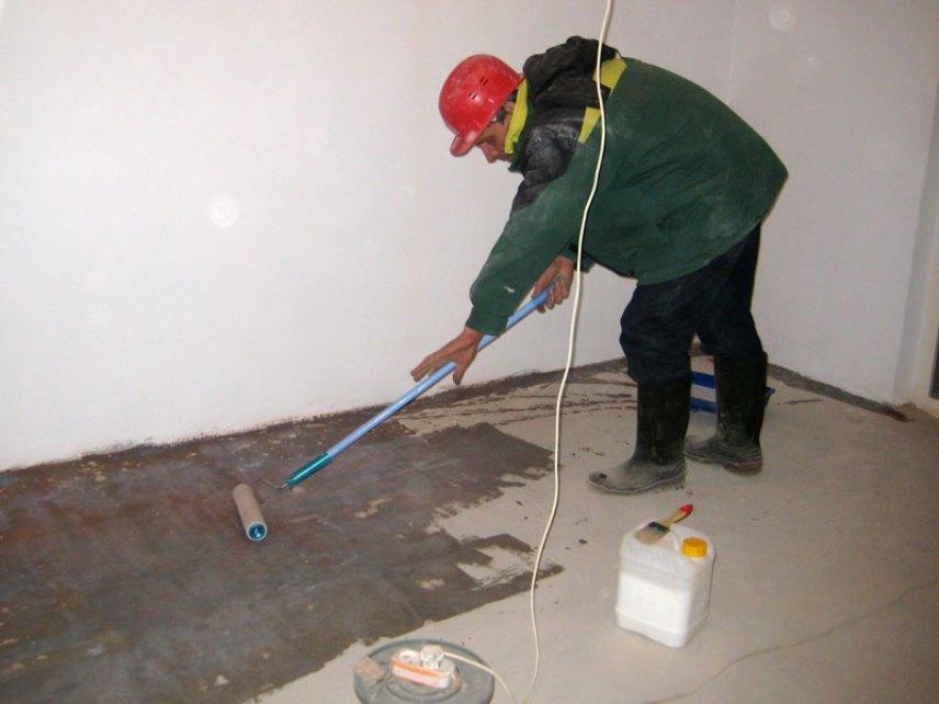 Пропитка для бетона - Обработка бетонного пола