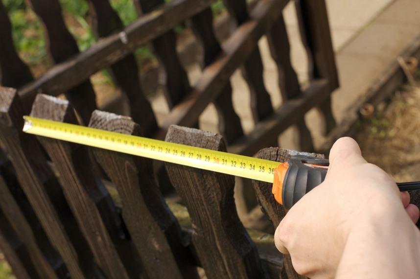 Самозахват земли - Забор