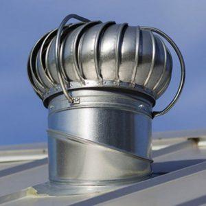 Турбодефлектор на крыше