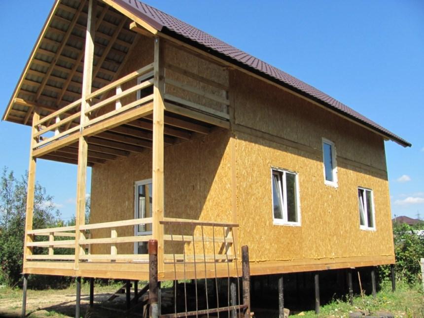 Утепление полов каркасного дома со свайным фундаментом: как это делается