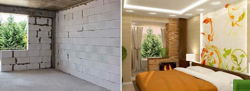 Чем отделать интерьер дома из газобетона: 4 доступных варианта