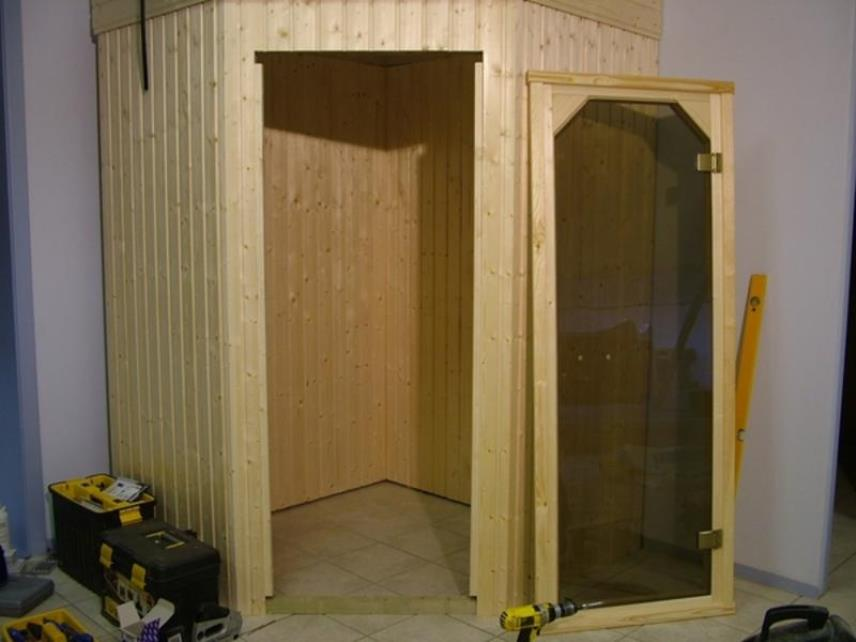 Дверь сауны