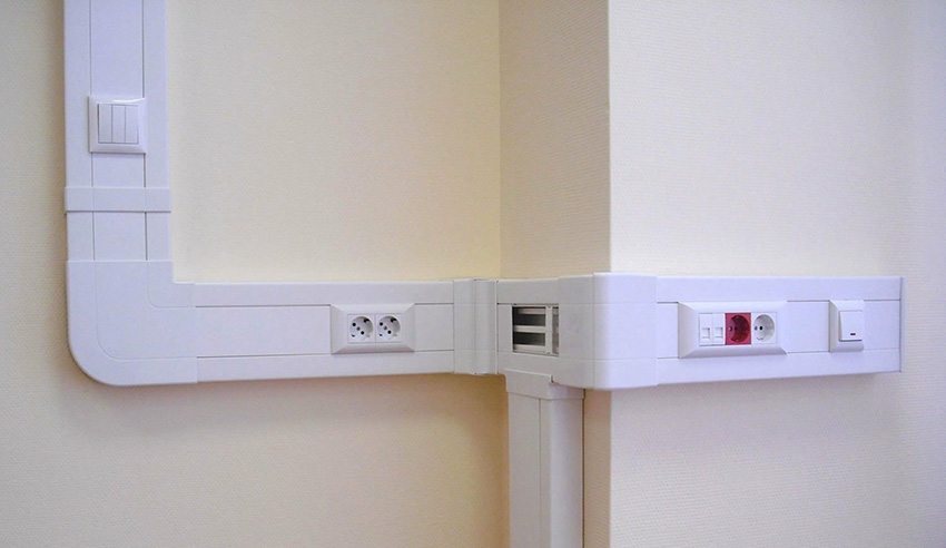 кабель-канал в квартире