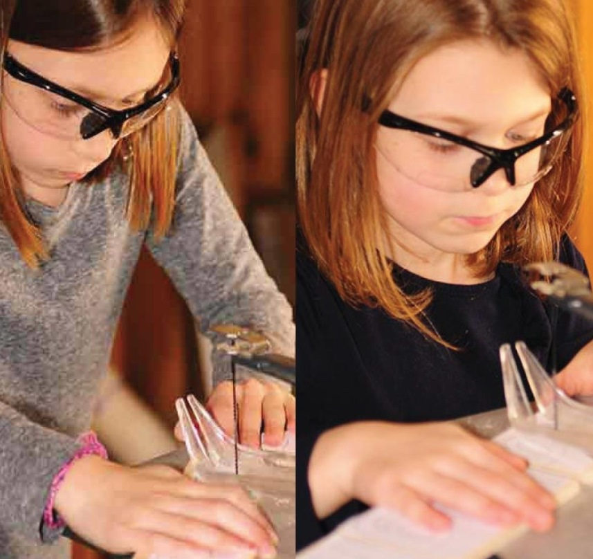 Как приобщить детей к столярному делу - За работой