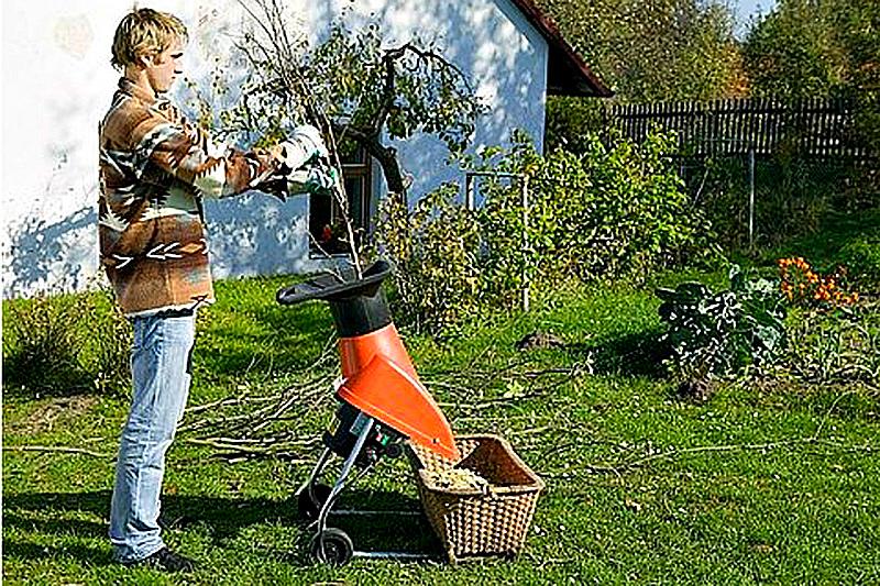 Садовая техника - шредер