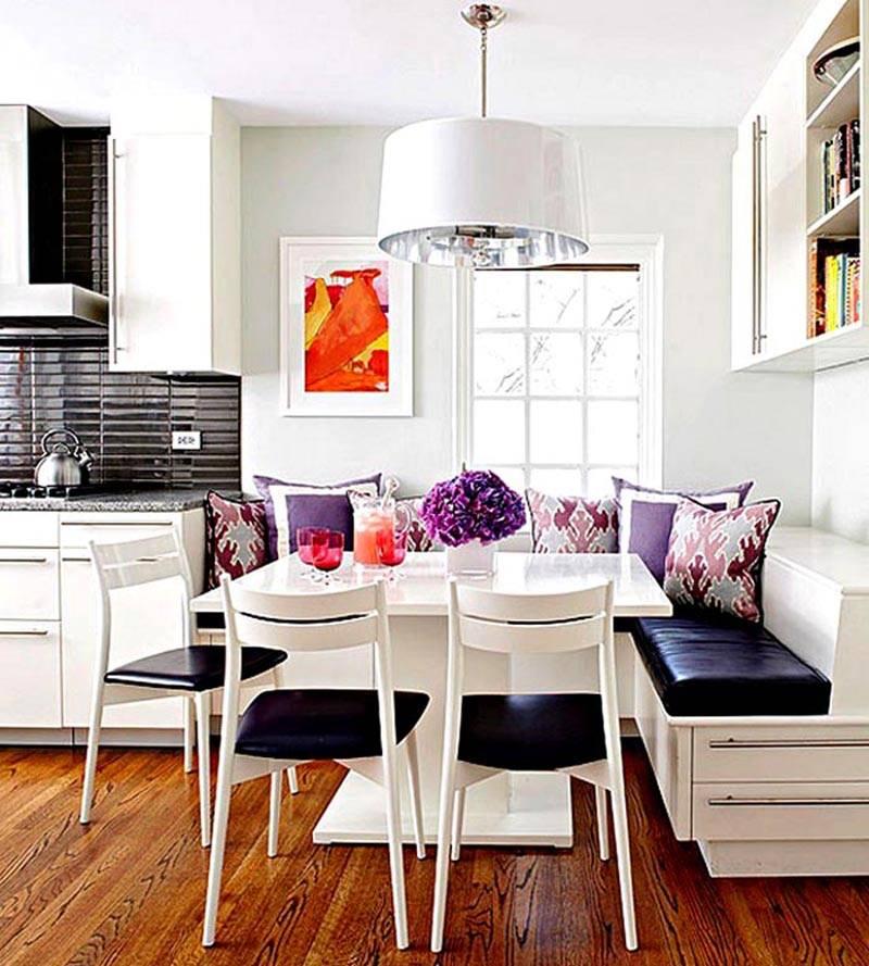 Спальное место на кухне: функционально и необычно