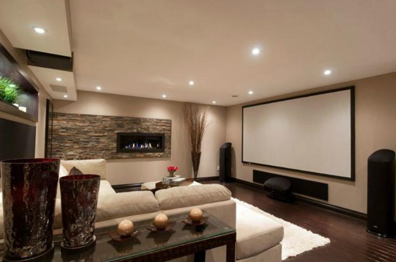Подвал-домашний кинотеатр