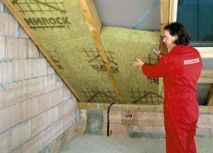 Утепление крыши - выполнение
