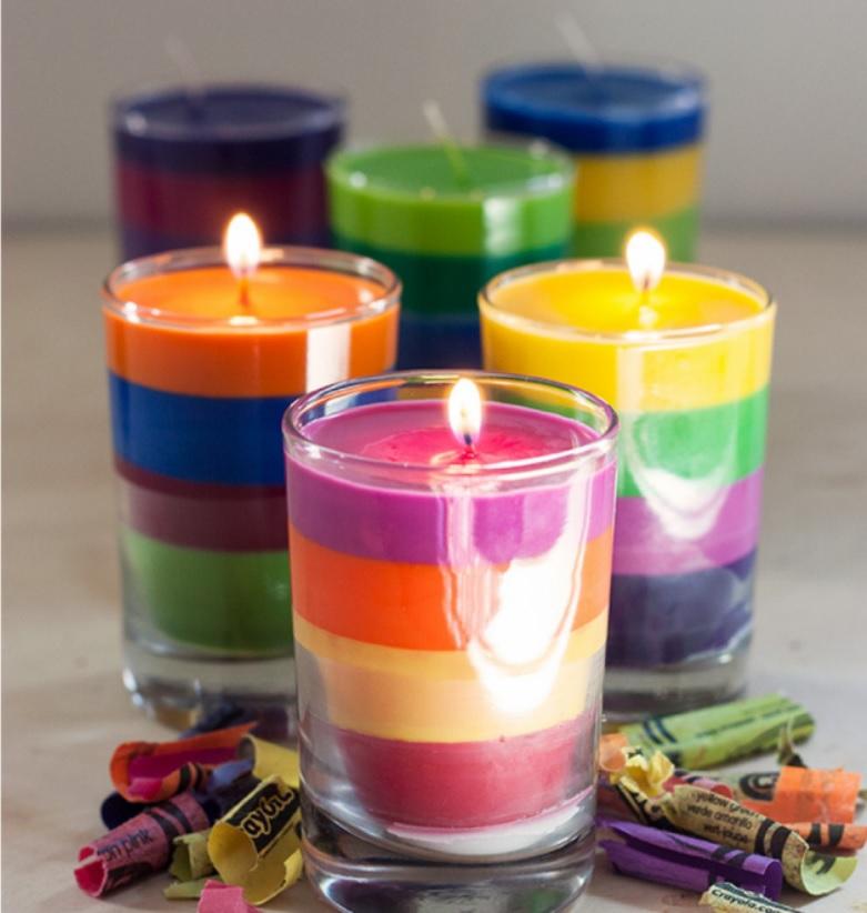 Готовые свечи