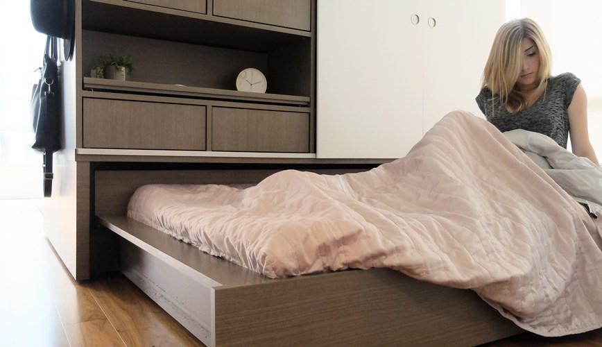 Мебель ORI - Двуспальная кровать