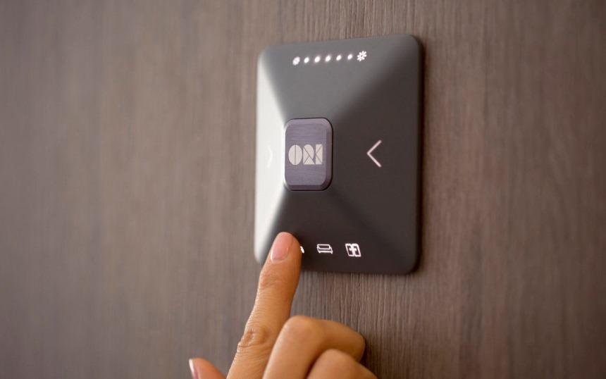 Мебель ORI - кнопка управления