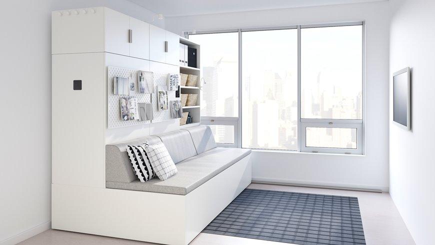Умная мебель-трансформер для мини-квартиры