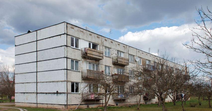 панельный дом советского типа