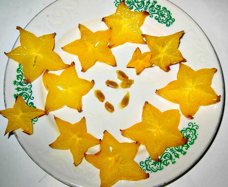 Семена звездного фрукта