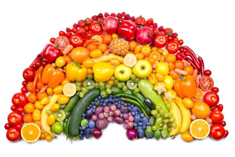 Фруктово-овощная радуга