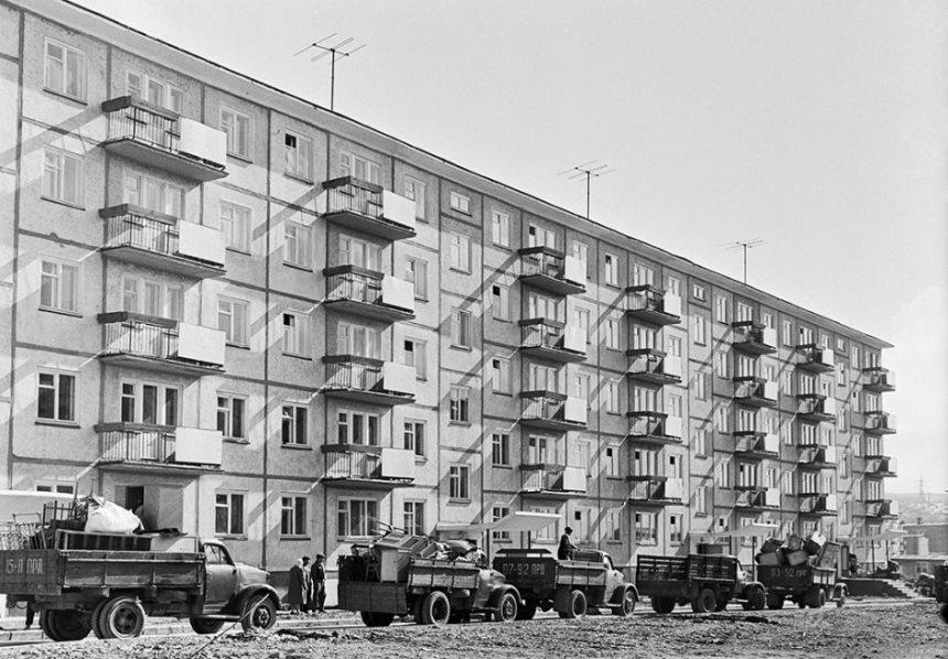 Хрущевка - заселение в СССР