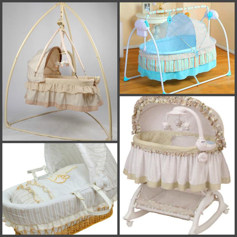 Кроватка для новорождённого - разные колыбели