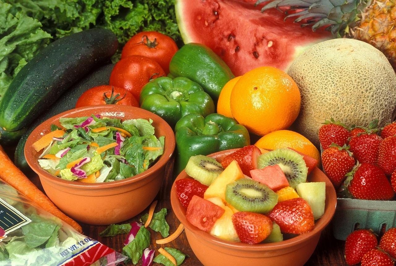 Плоды и овощи для здоровья и красоты
