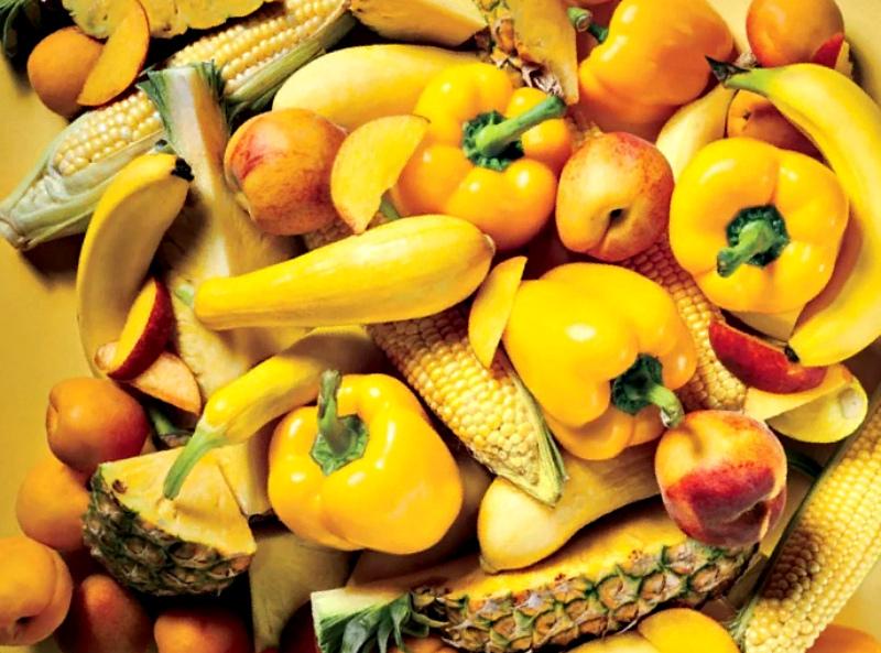 Солнечные овощи и плоды
