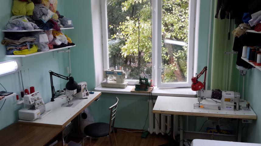 Жилье - швейное ателье в квартире