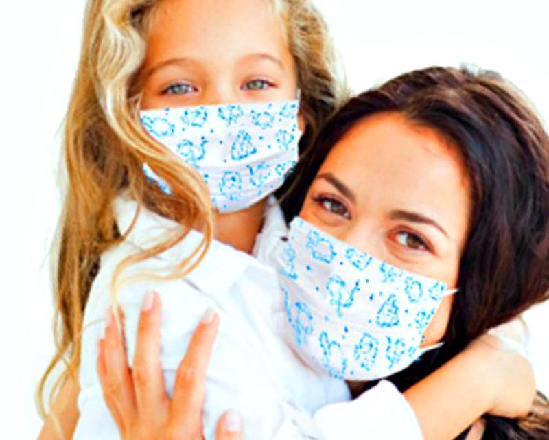 Марлевая повязка поможет защититься от гриппа