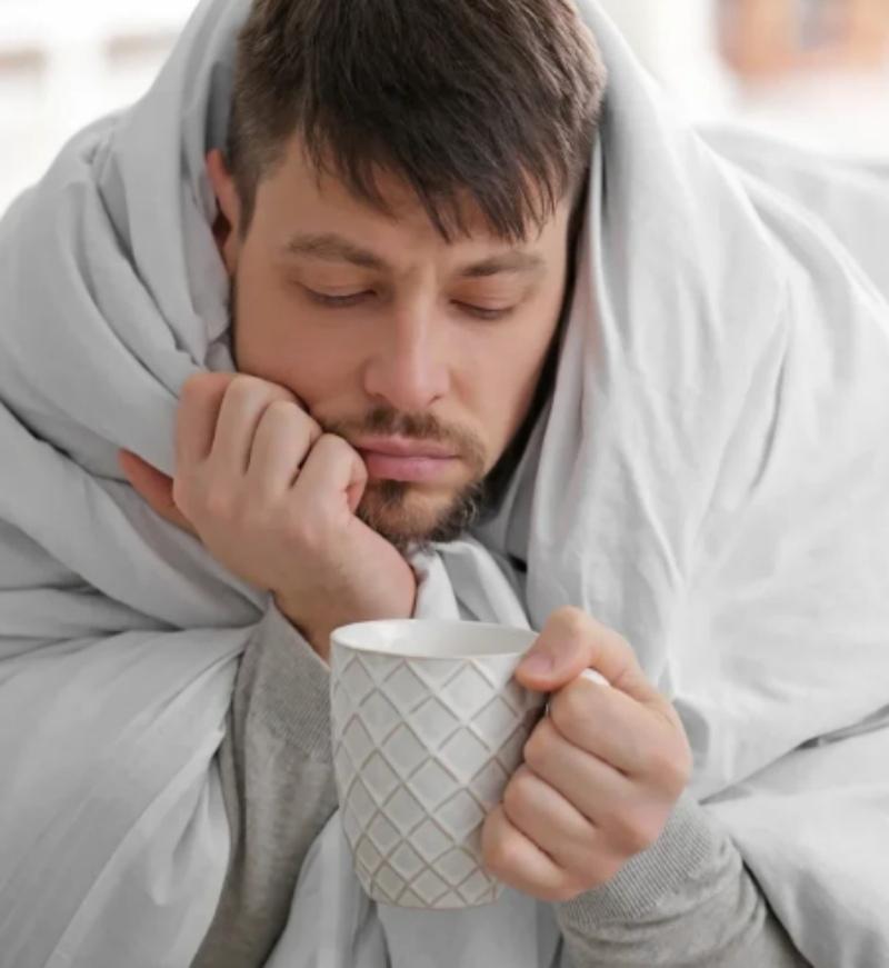 справиться с гриппом