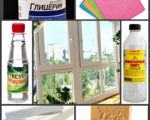 Чем мыть окна