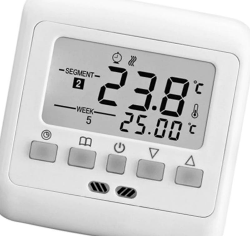 Цифровой терморегулятор для теплого пола