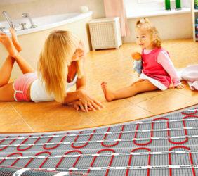 Достоинства электрических теплых полов
