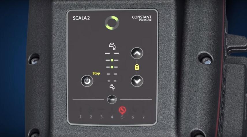 Насосная установка Scala2 - индикатор ошибок