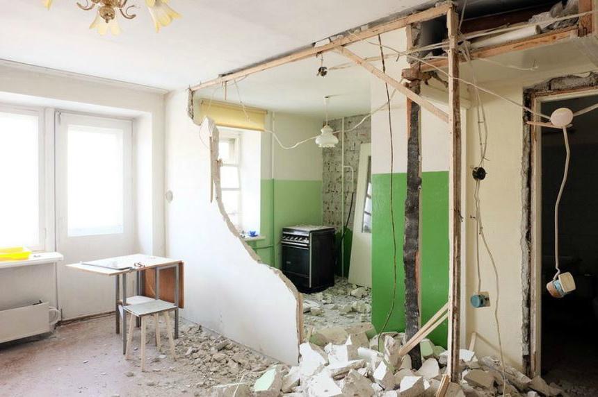 Несогласованный ремонт - можно потерять жилье