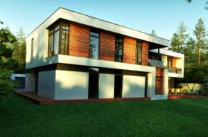 Плоская крыша дома