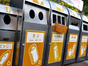 Сортировка мусора в Японии