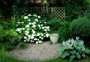 Монохромный сад в белом цвете — воплощенная элегантность и сдержанность
