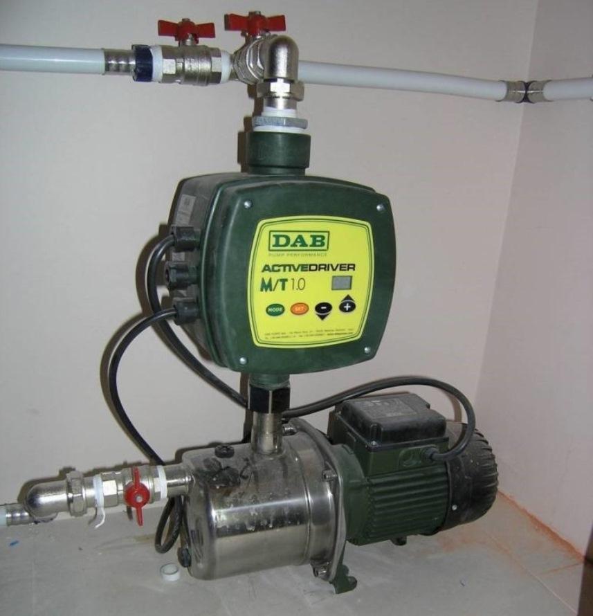 Автоматика: Частотный регулятор с насосом