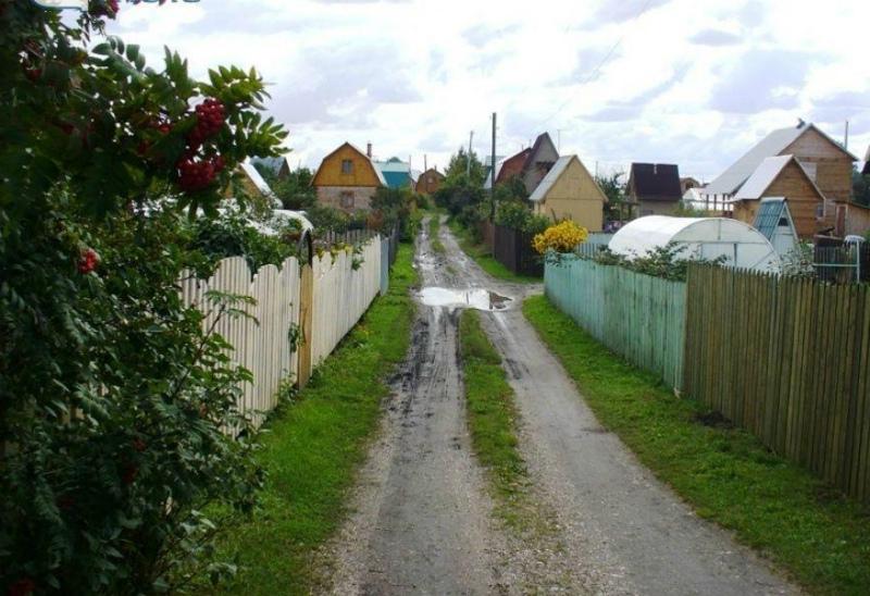 Дачная улица