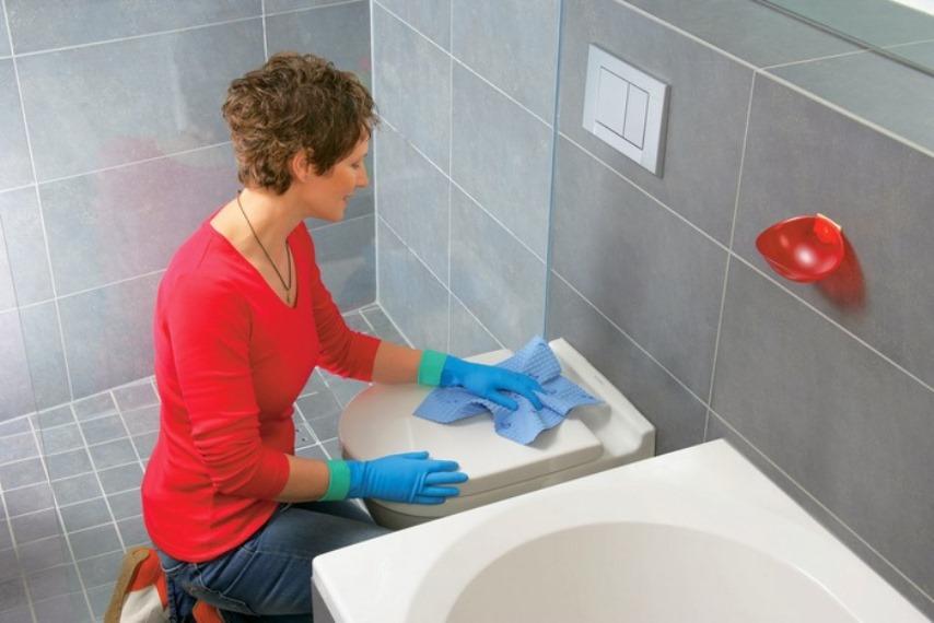 Дезинфекция ванной комнаты