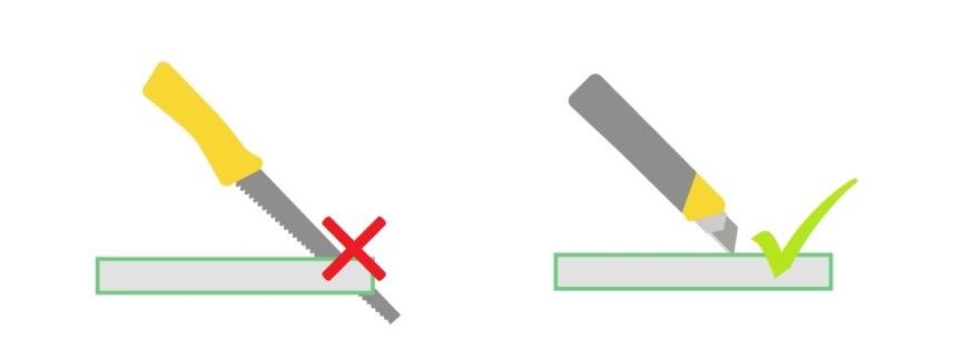 Инструменты для резки ГКЛ