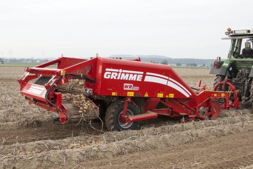 Картофелекопалка WR 200