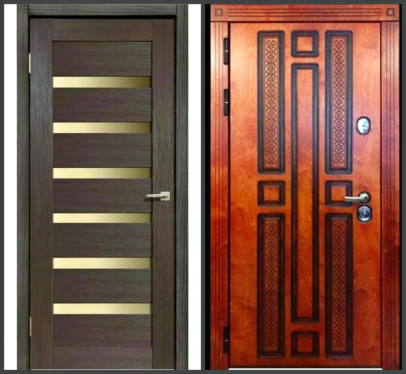 Межкомнатная и входная двери